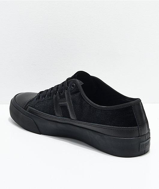 HUF Hupper 2 Lo Black Velvet Skate