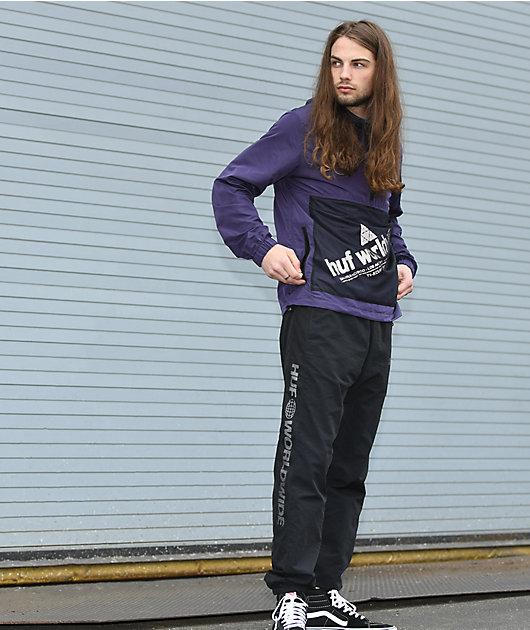 HUF Marathon Black Track Pants