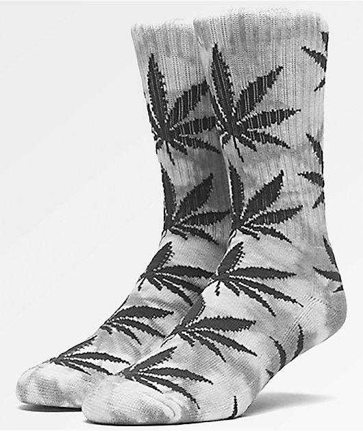 HUF Plantlife Grey Tie Dye Crew Socks