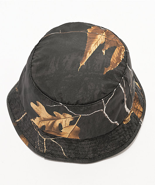 HUF Realtree Black Bucket Hat