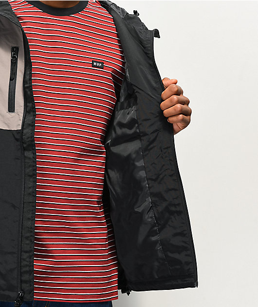 HUF Standard Shell 2 Black Windbreaker Jacket