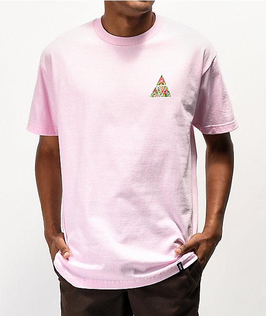 HUF Tropics Pink T-Shirt