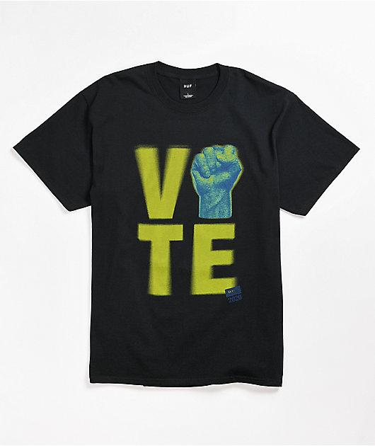 HUF Vote Black T-Shirt