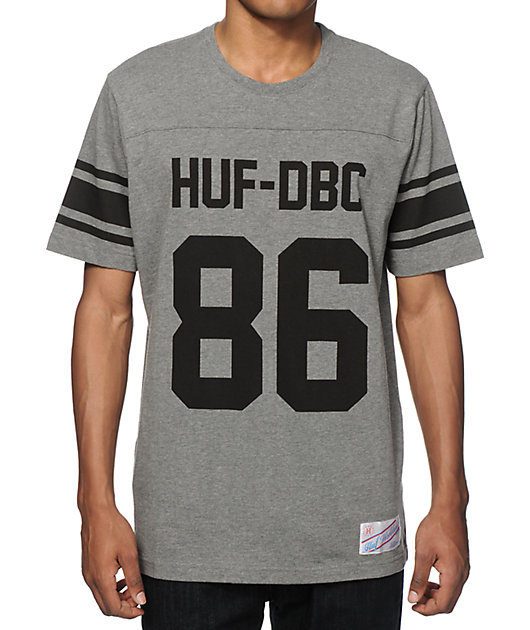 HUF Wrecking Crew Football Jersey T-Shirt