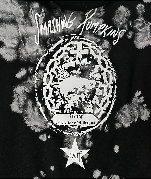 HUF x Smashing Pumpkins Cherub Rock Black & White Hoodie