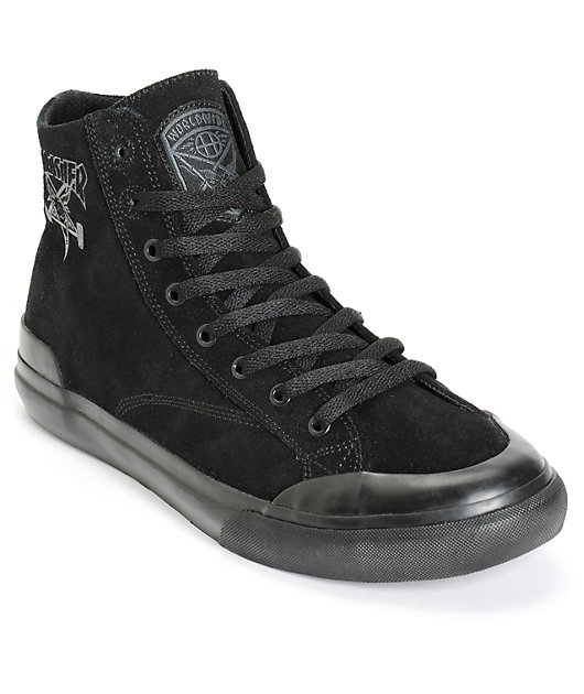 HUF x Thrasher Classic Hi Skate Shoes