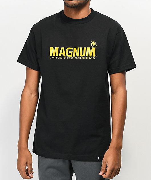 HUF x Trojan Magnum Black T-Shirt