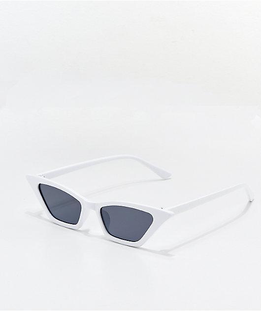 Hale White Sunglasses