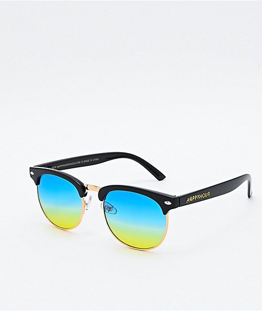 Happy Hour G2 Black & Ocean Sunglasses