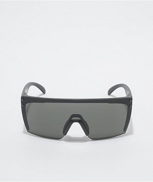 Heat Wave Lazer Face Z.87 Black Sunglasses