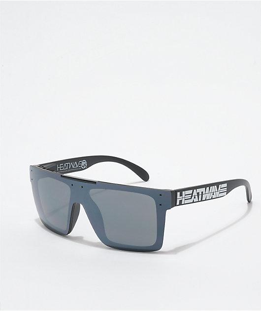Heat Wave Quatro Billboard Black Sunglasses