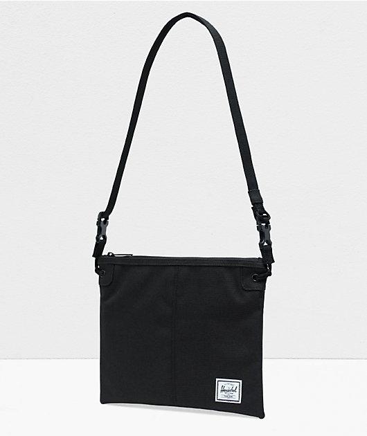 Herschel Supply Co. Alder bolso de hombro negro