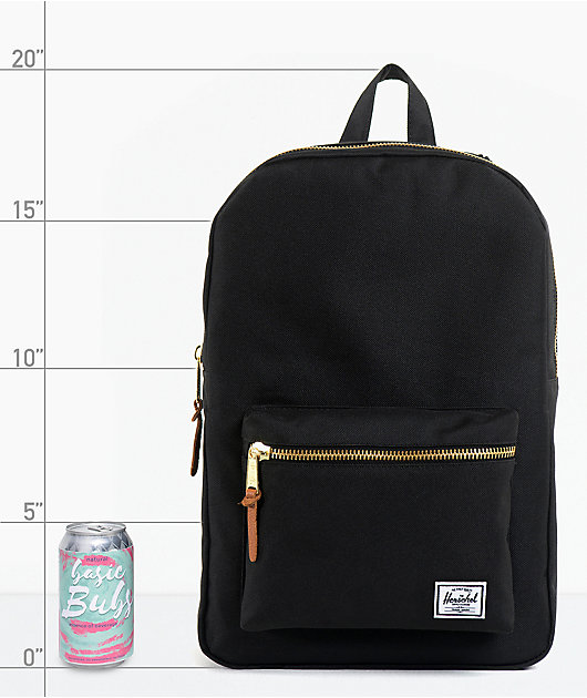 Herschel Supply Co. Black Settlement Backpack