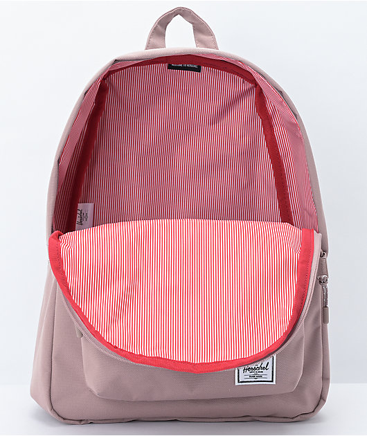 Herschel Supply Co. Classic Mid Ash Rose Backpack