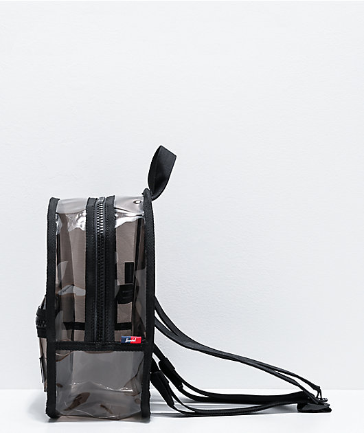 Herschel Supply Co. Classic Smoke Black Clear Mini Backpack