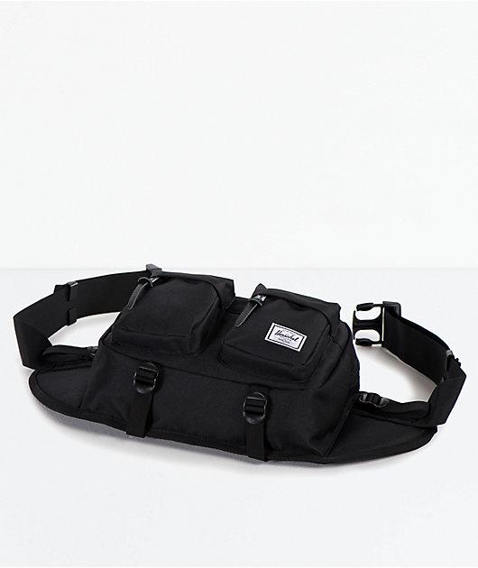 Herschel Supply Co. Eighteen Black Fanny Pack