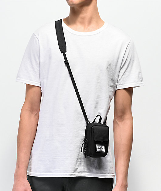 Herschel Supply Co. Form Small Black Shoulder Bag