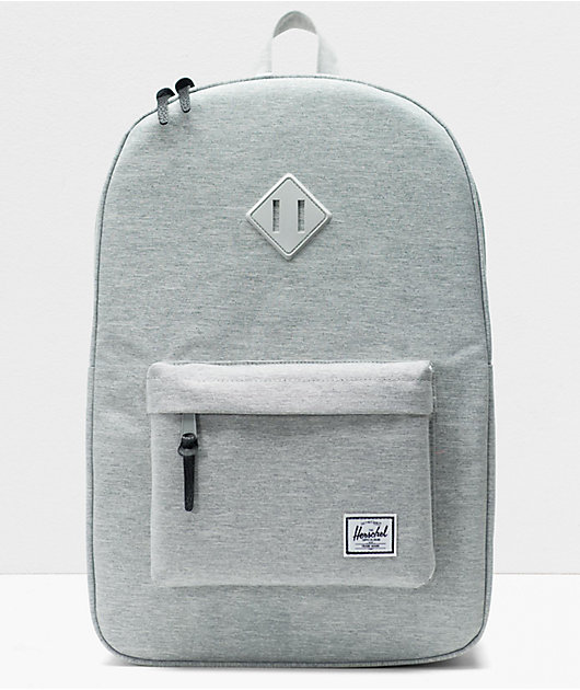 Herschel Supply Co. Heritage Light Grey Crosshatch Backpack