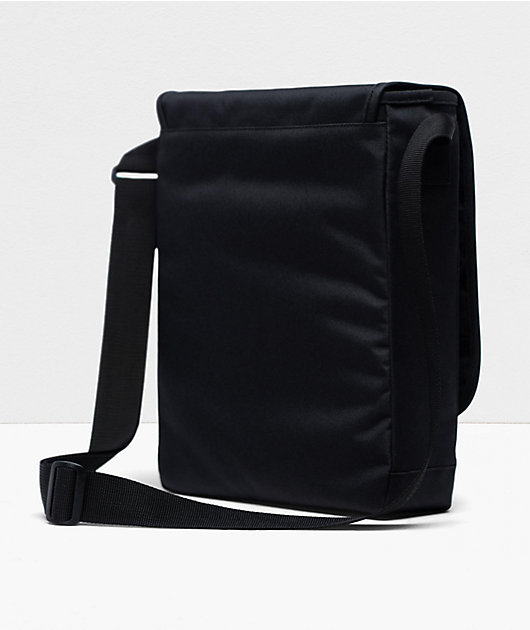 Herschel Supply Co. Lane Messenger bolso de hombro negro