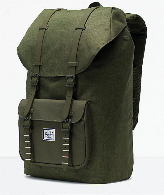 Herschel Supply Co. Little America Olive Night Backpack