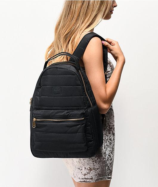 Herschel Supply Co. Nova Mid Quilted Black Backpack