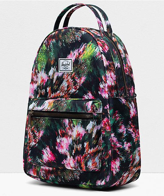 Herschel Supply Co. Nova Pixel Floral Mini Backpack