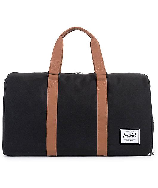 Herschel Supply Co. Novel Black Duffle Bag
