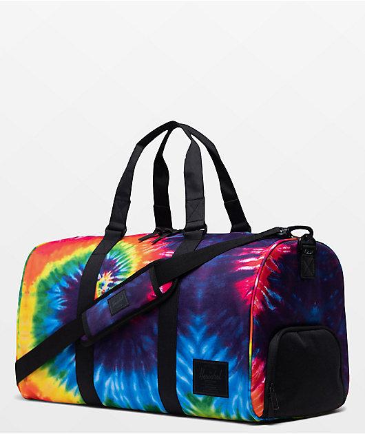 Tie dye duffle bag tie dye travel bag personalized tie duffle bag duffle bag