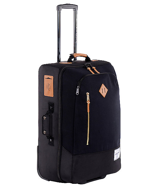 Herschel Supply Co. Parcel Black Roller Bag
