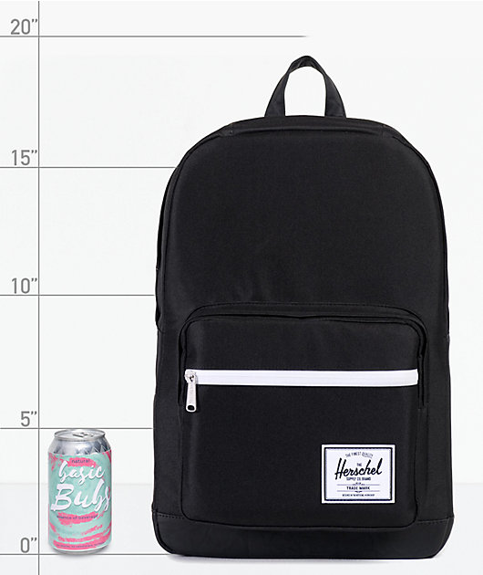 Herschel Supply Co. Pop Quiz 22L mochila negra