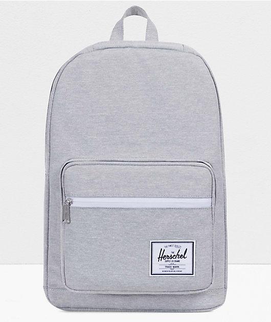 Herschel Supply Co. Pop Quiz Light Grey Crosshatch Backpack