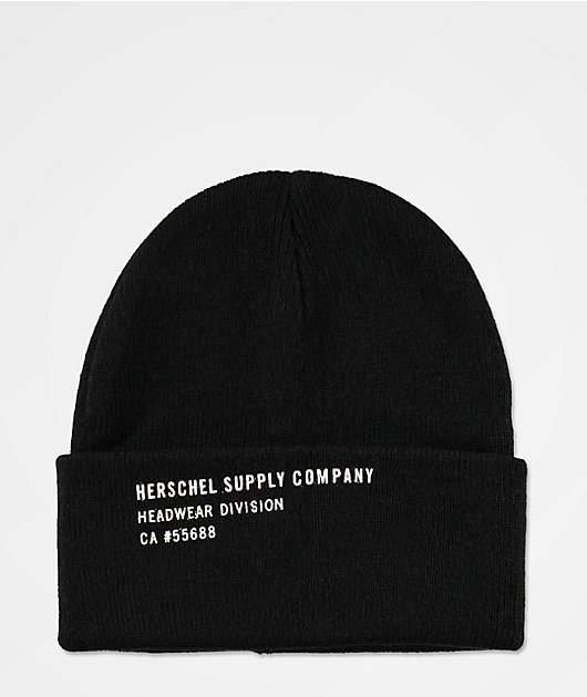 Herschel Supply Co. Print gorro negro