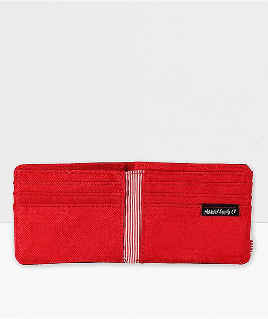 Herschel Supply Co. Roy Navy & Red Bifold Wallet
