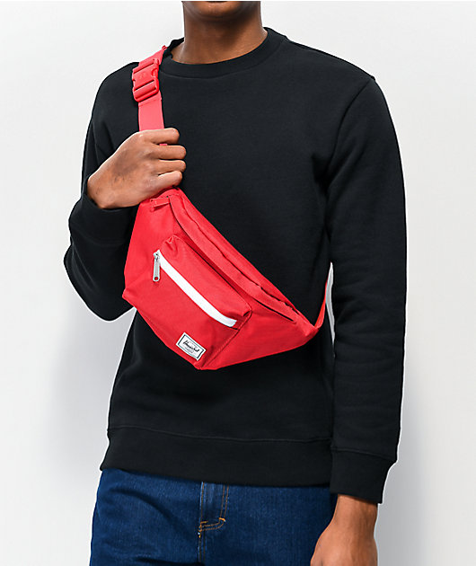 Herschel Supply Co. Seventeen Red Fanny Pack