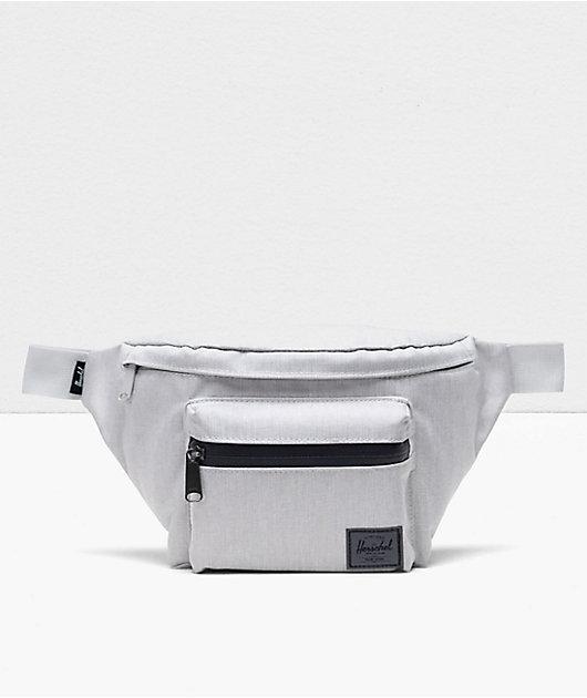 Herschel Supply Co. Seventeen Vapor Grey Crosshatch Fanny Pack