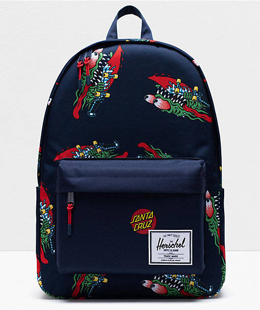 Herschel Supply Co. x Santa Cruz Classic XL Slasher Navy Backpack