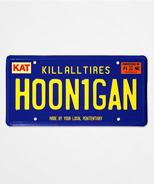 Hoonigan Cali OG License Plate