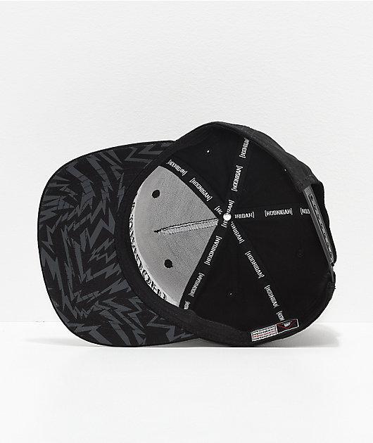 Hoonigan Gymkhana 10 Black & White Snapback Hat