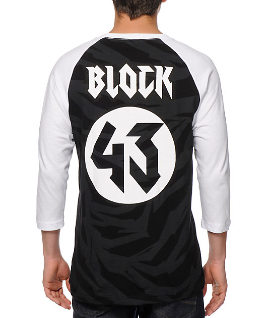 Hoonigan Ken Block Baseball T-Shirt