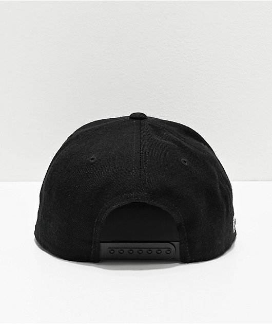 Hoonigan Ken Block Bolts Black Snapback Hat