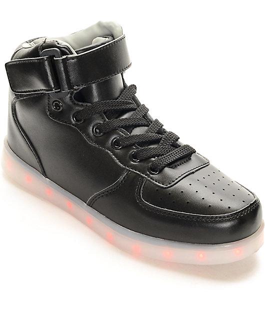 Hoverkicks Super Nova LED Black Shoes