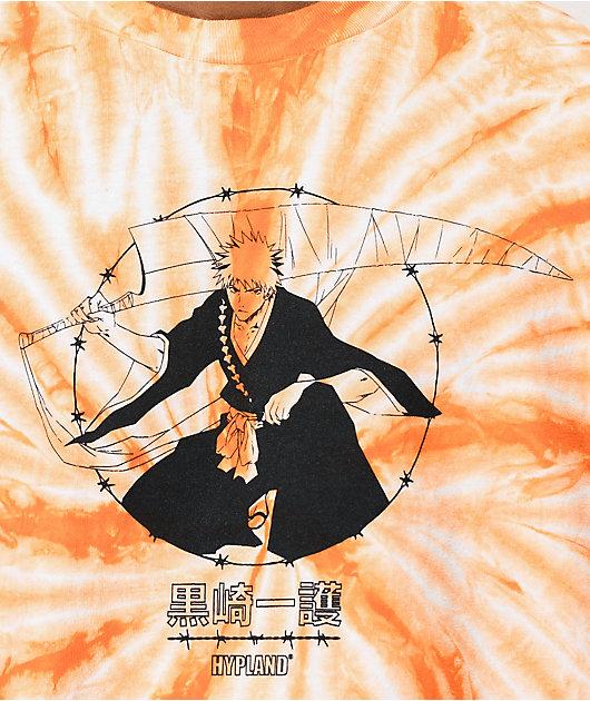 Hypland x Bleach Ichigo Orange Tie Dye T-Shirt