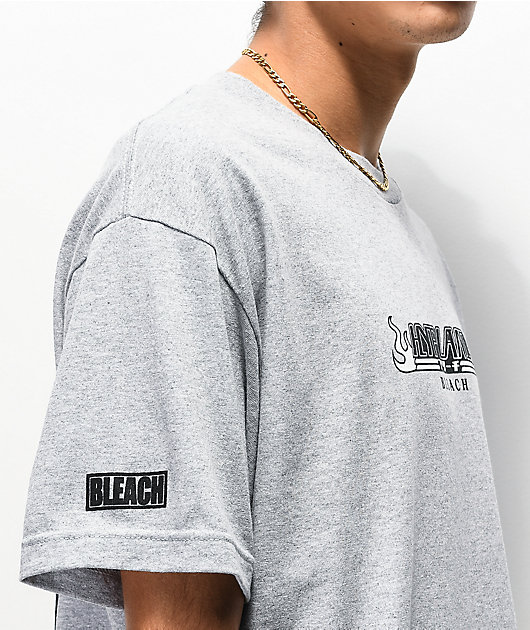 Hypland x Bleach Squad Grey T-Shirt