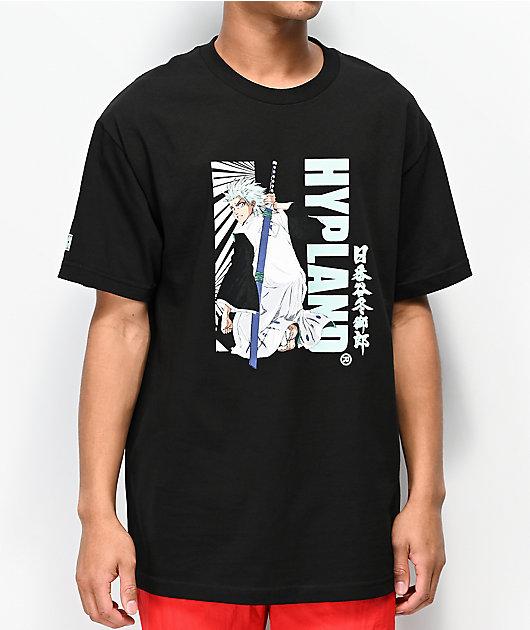 Hypland x Bleach Toshiro Black T-Shirt