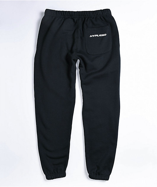 Hypland x Hunter x Hunter Face Black Sweatpants