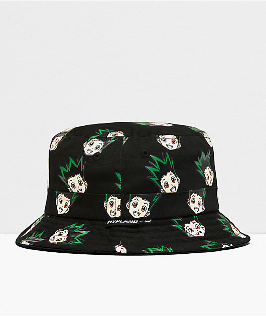Hypland x Hunter x Hunter Gon Black Bucket Hat