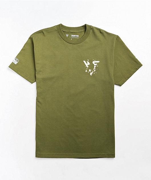 Hypland x Hunter x Hunter Gon Break Olive T-Shirt