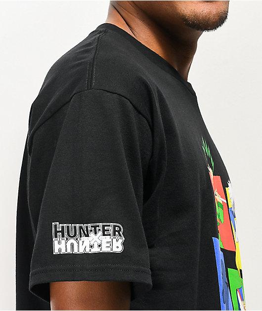 Hypland x Hunter x Hunter Group Black T-Shirt