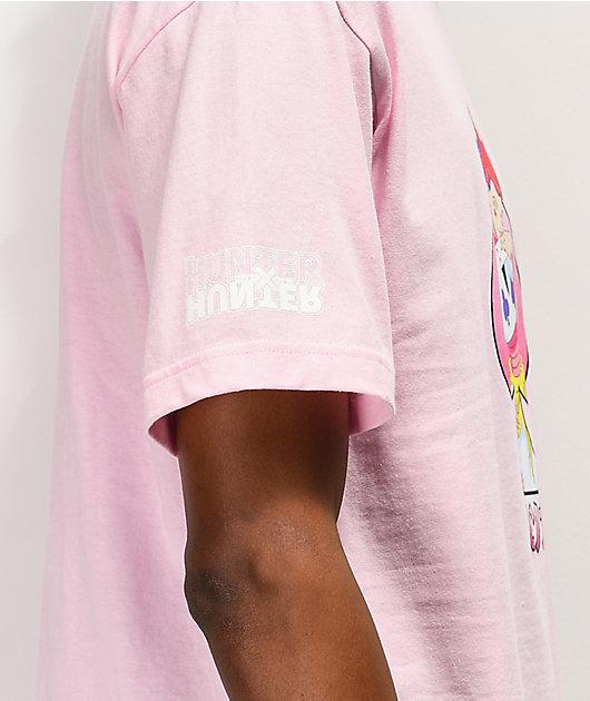 Hypland x Hunter x Hunter Hisoka Pink T-Shirt