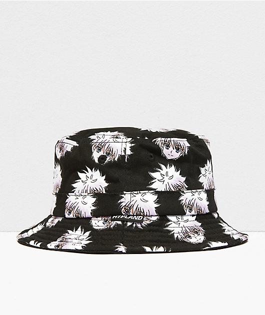 Hypland x Hunter x Hunter Killua Black Bucket Hat